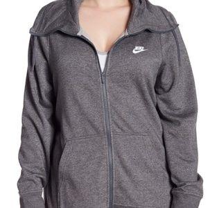 NIKE Funnel Neck Hoodie zip 1X Sweatshirt jacket